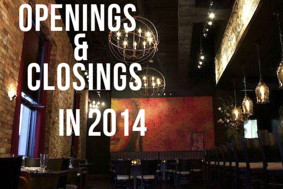 Countdown to 2015: Openings and Closings in April 2014 - Eater Houston