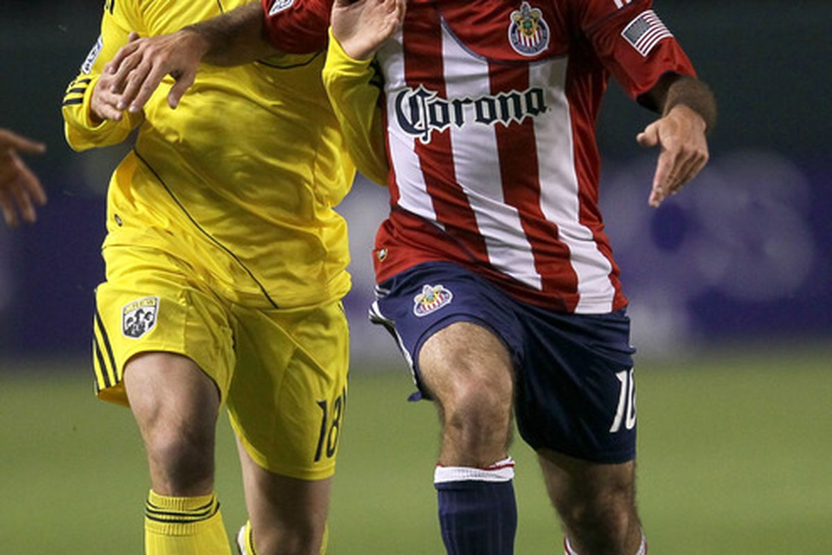 CARSON, CA - APRIL 9: Nick LaBrocca: A Third-Round SuperDraft selection in 2007 (Photo by Stephen Dunn/Getty Images)