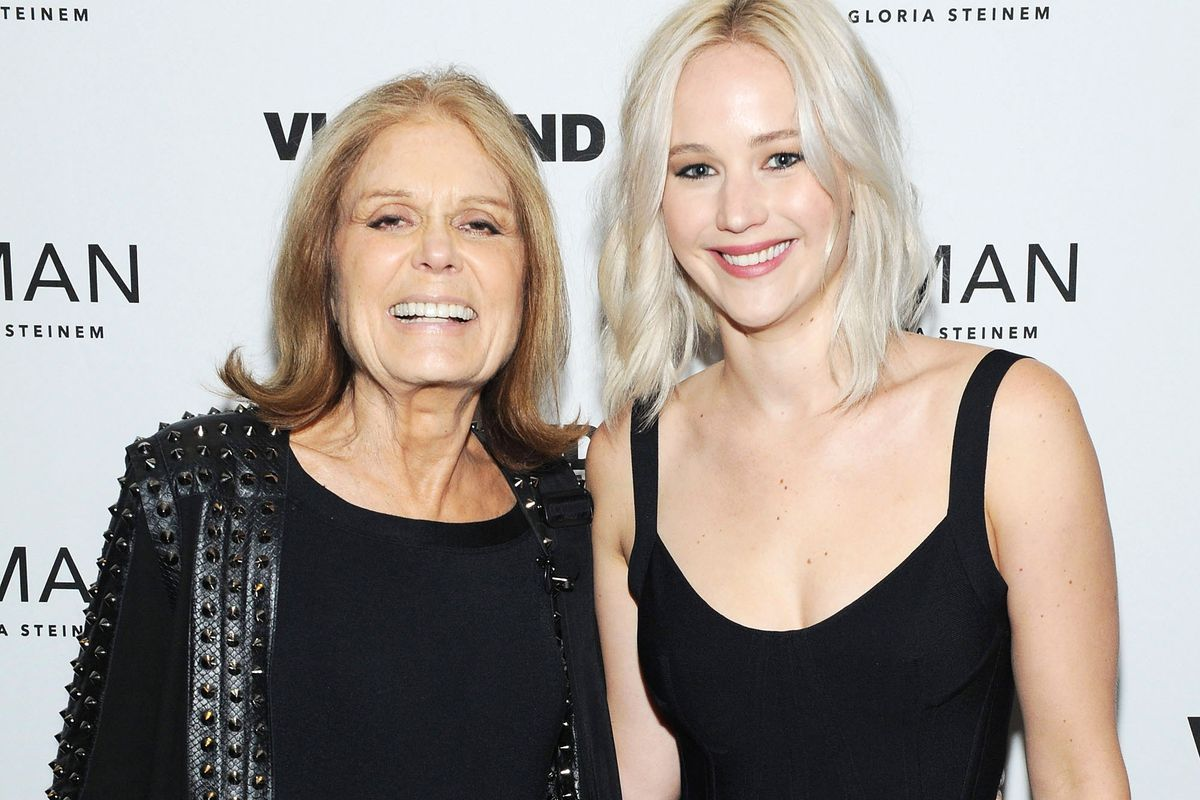 Steinem and Lawrence