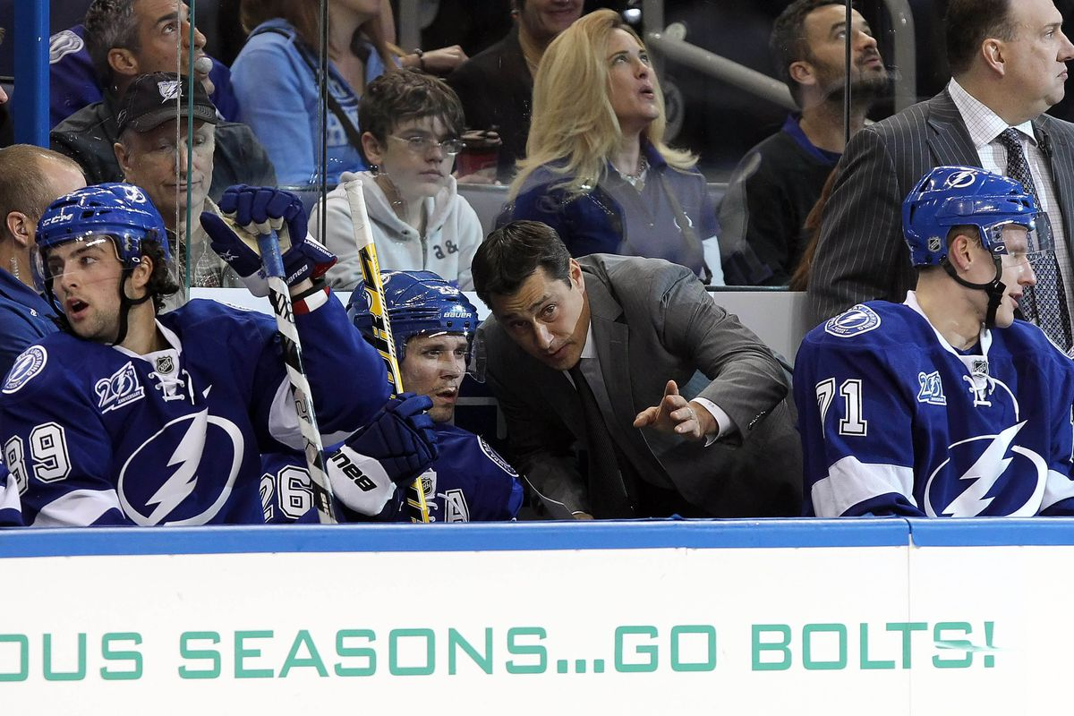 Guy Boucher has been removed as Lightning Head Coach.
