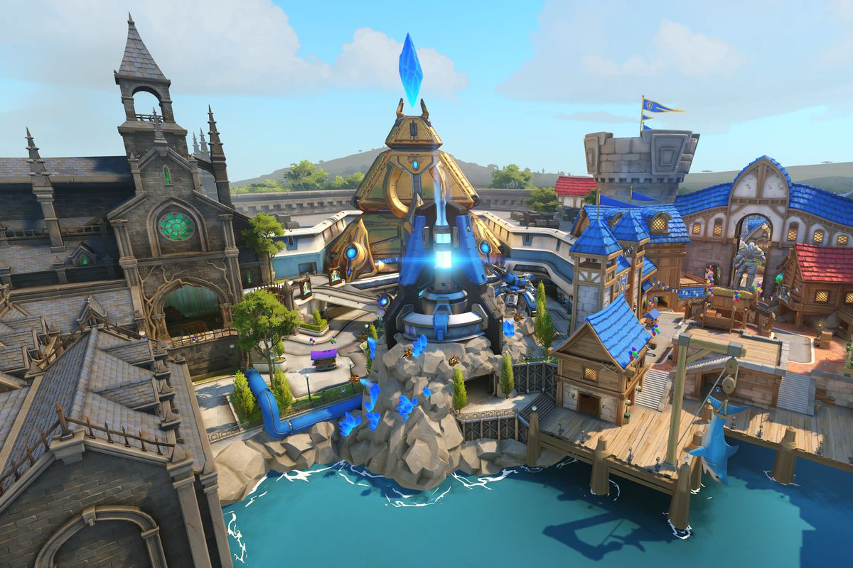 overwatchs blizzardworld map blizzard entertainment