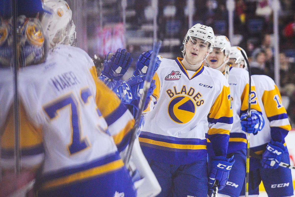 Saskatoon Blades v Calgary Hitmen