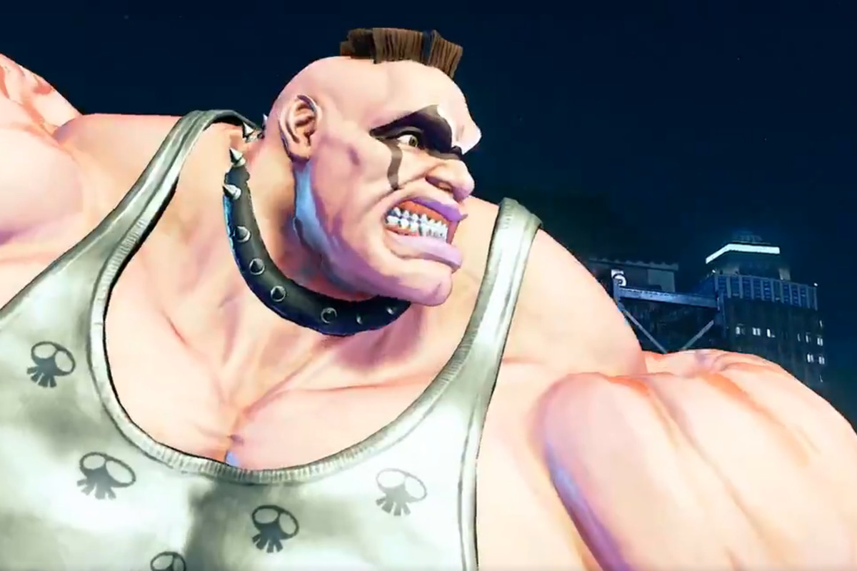 Street Fighter 5 Abigail Reveal Trailer
