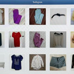 Nicole Christensen and a few other women sell their used clothes on Instagram.