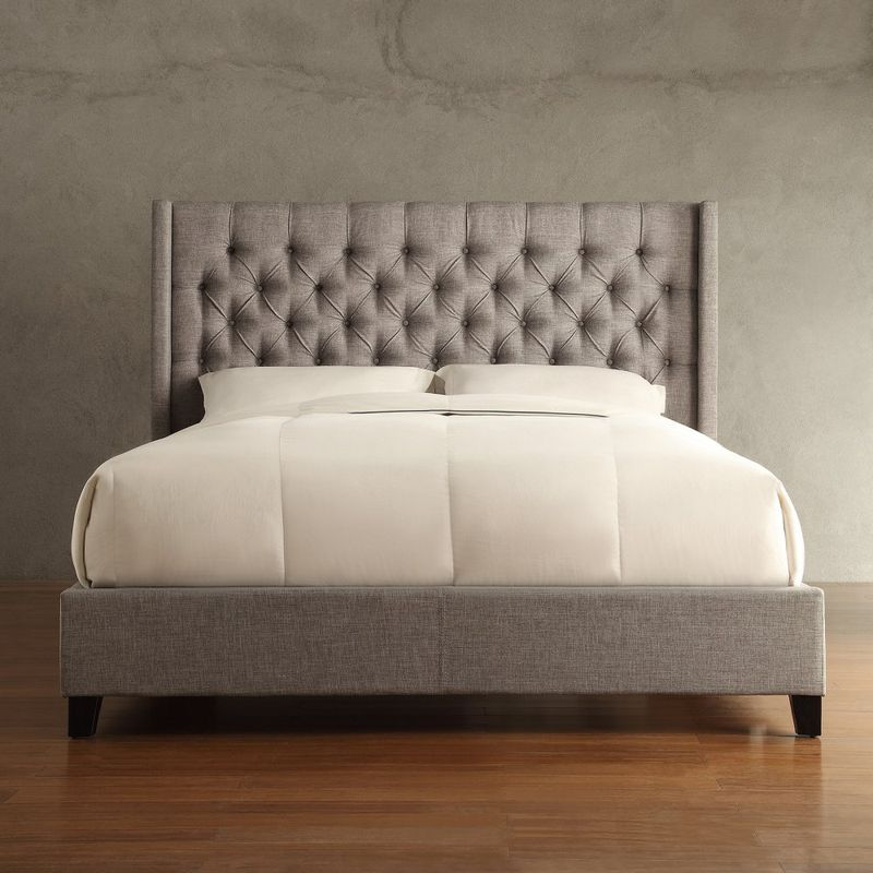 This platform bed has a youthful feel  thanks to its warm finish and solid  mango wood construction  Its slightly higher rise allows for under bed  storage. 10 best beds under  1 000   Curbed