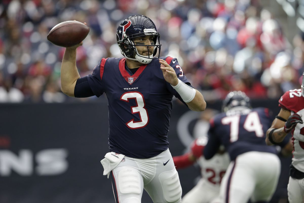 more photos 5533a a926a Tom Savage leads Texans to 31-21 win over Cardinals ...