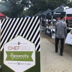 Over 100 of Chicago's top Chefs participated in the Green City Market Chef BBQ. | Sun-Times Staff