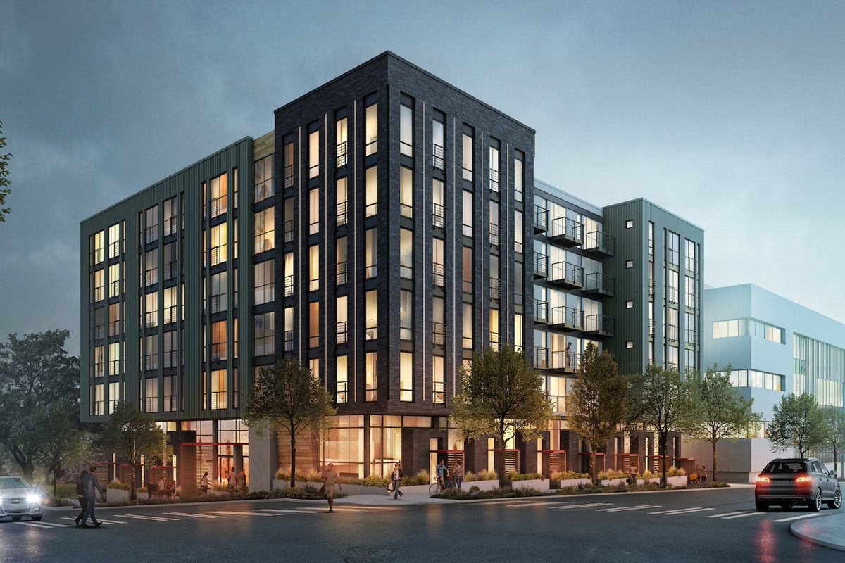 Apartment Buildings In Seattle take a first look at zella apartments in queen anne - curbed seattle