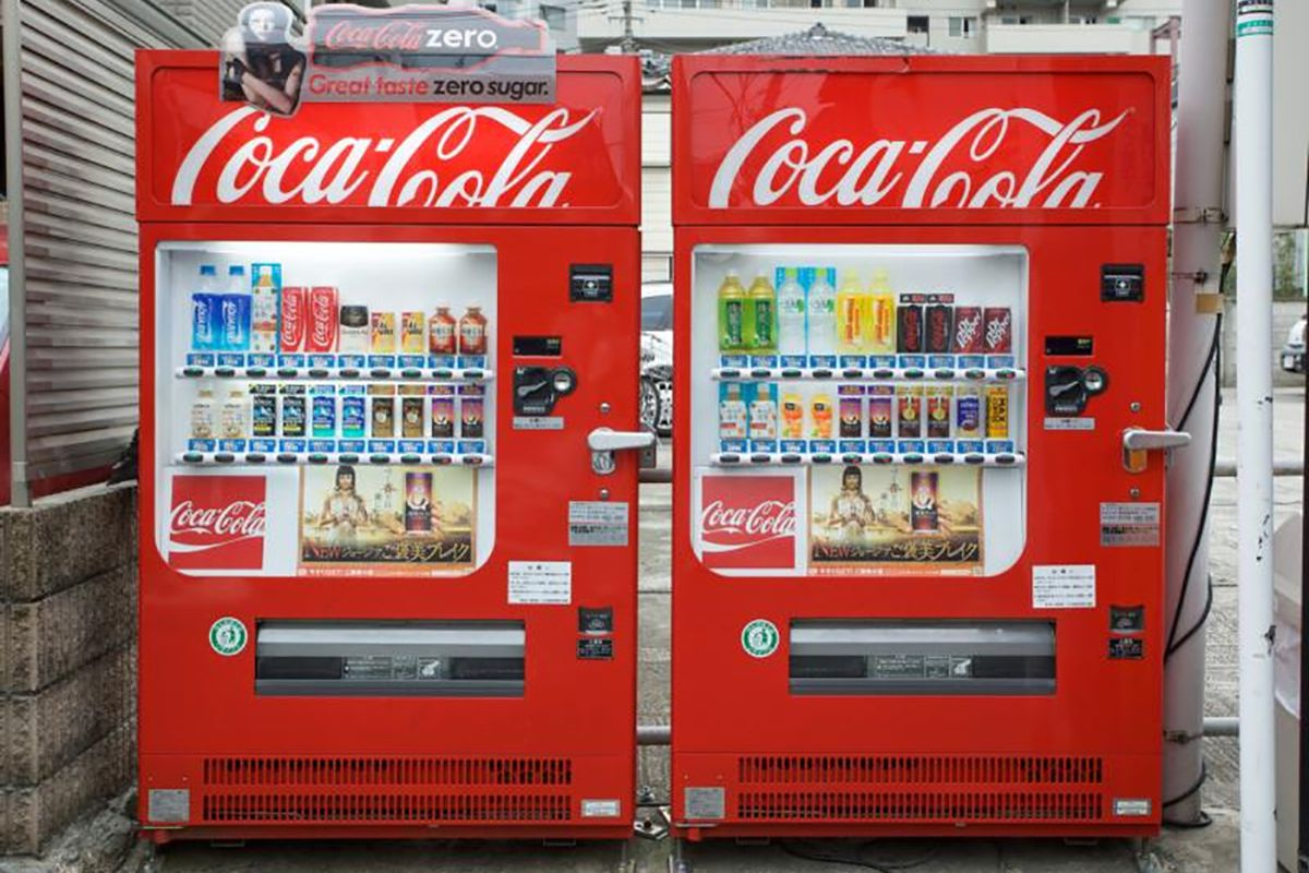 coca cola vending machines Share a coke with the coca-cola vending pass share the gift of an  ice cold coke with  find a coca-cola vending machine near you.