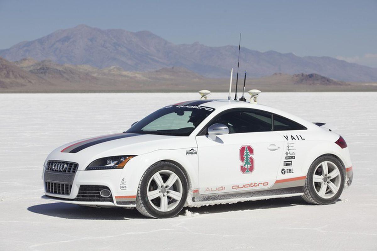 Audi self-driving TT