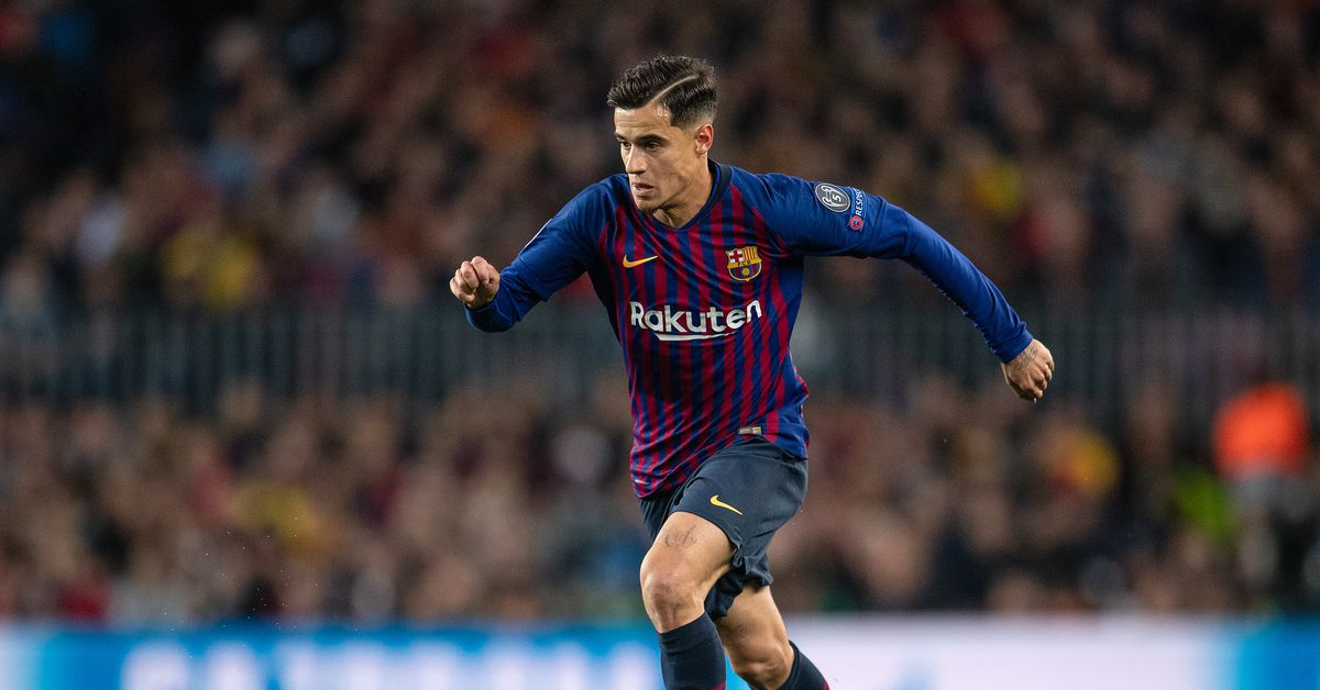 5f49df4b62c Report  Coutinho Would Welcome Barca Exit. FC Barcelona logo