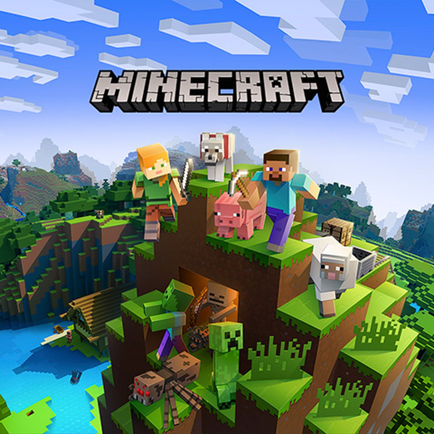 Minecraft for the Switch is getting cross-play with PC, Xbox One