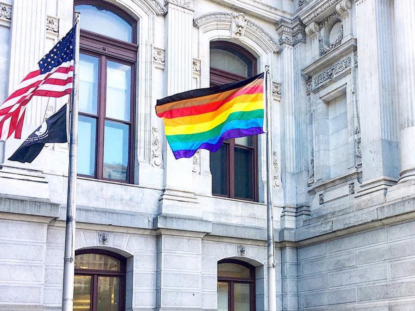Why Philly Decided To Redesign The Iconic Pride Flag Curbed Philly