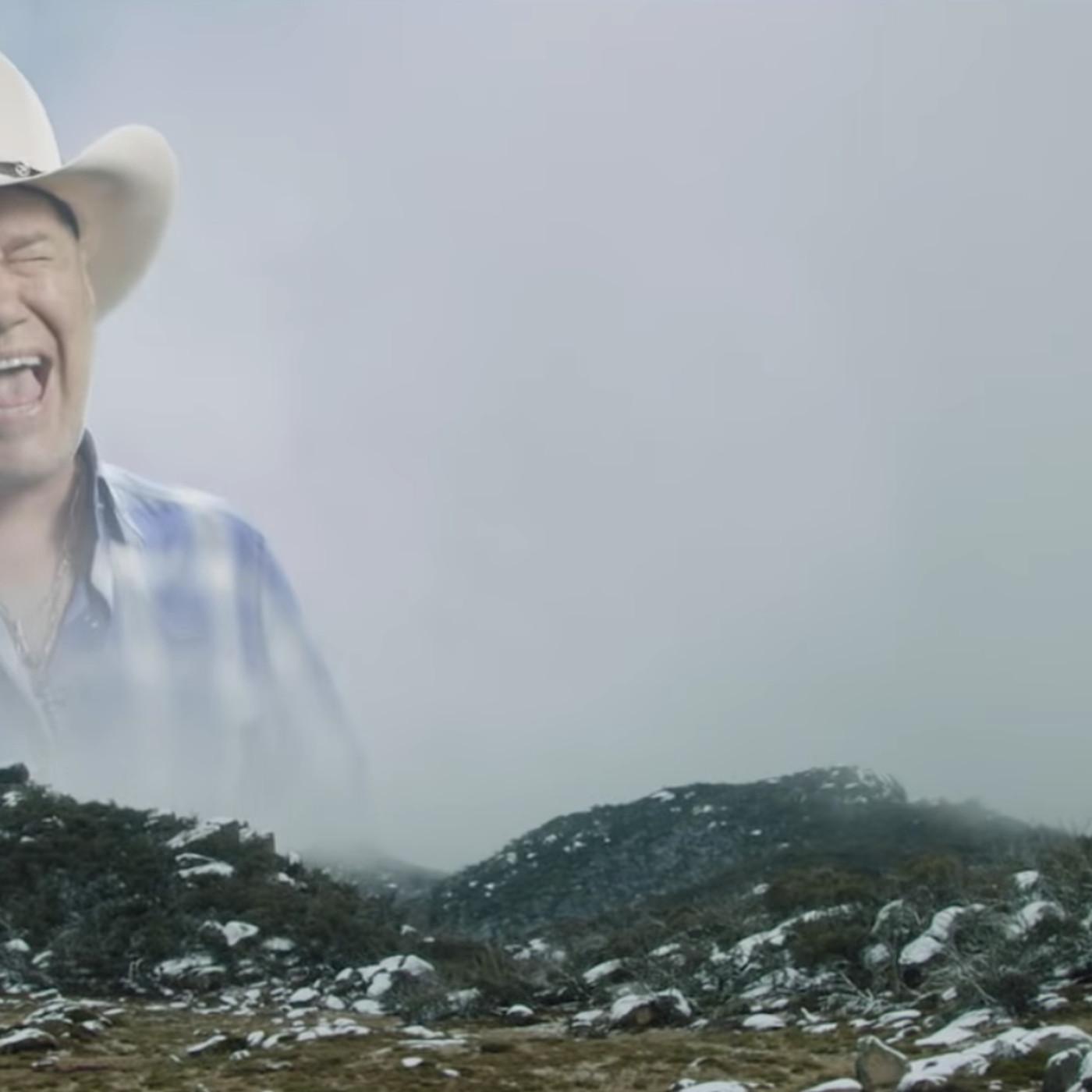 Snapchat's new segmented lens tech makes the screaming cowboy meme