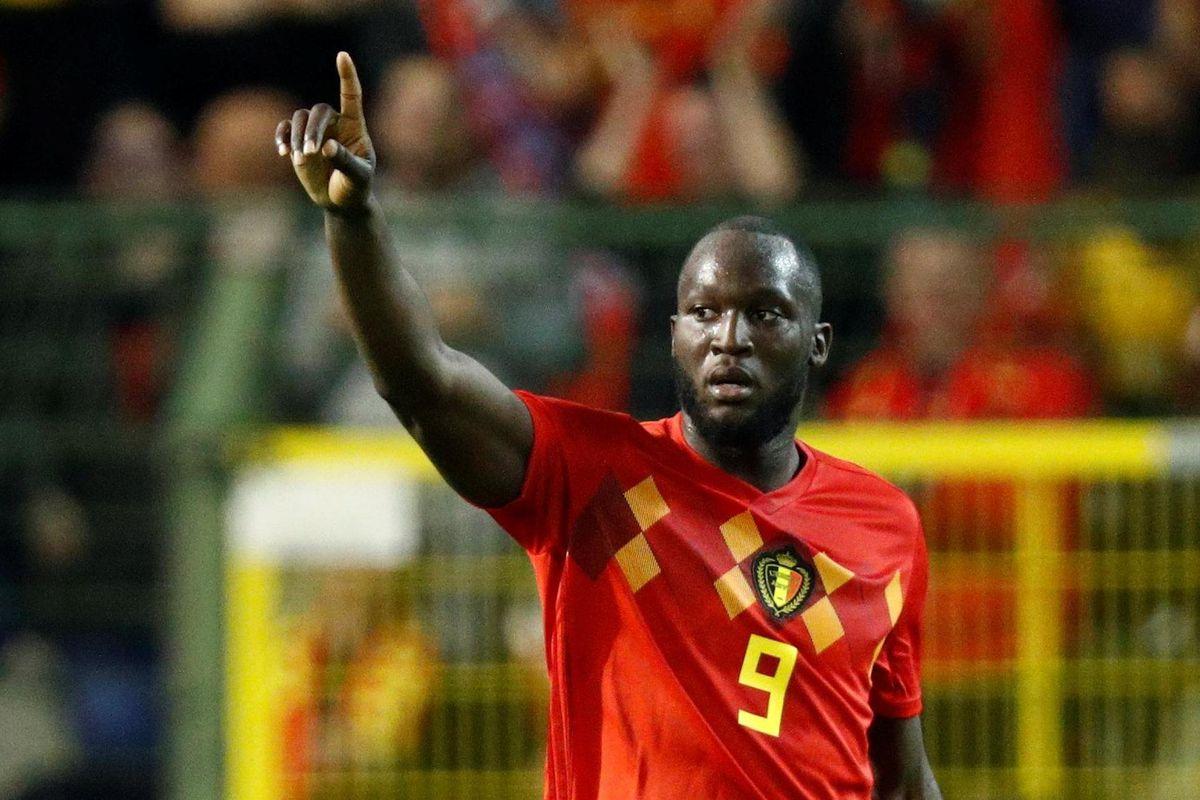 Video Romelu Lukaku Scores Brace For Belgium The Busby Babe