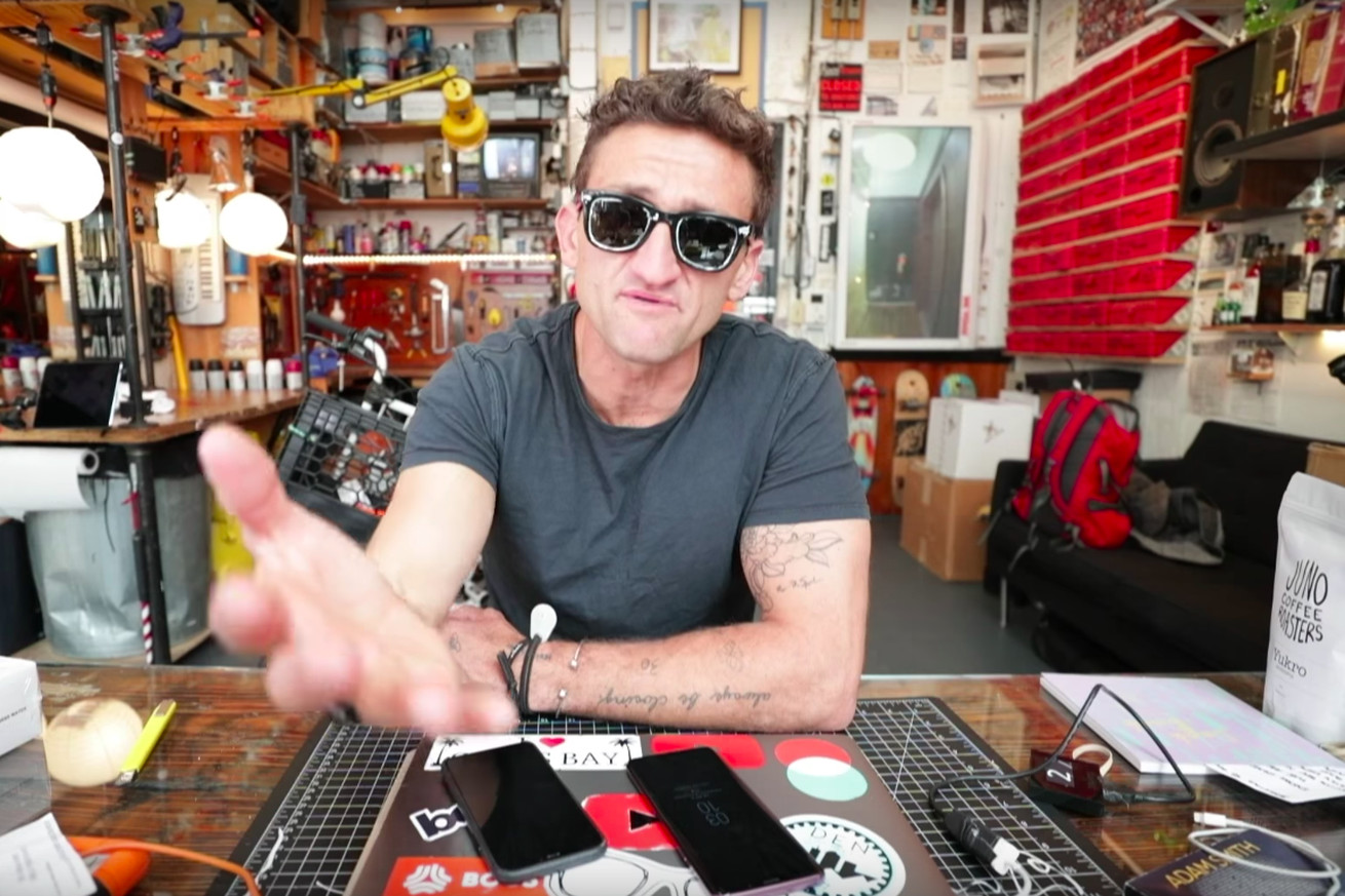 man trespasses in casey neistat s workspace in yet another example of fan transgression