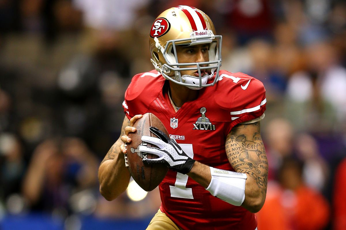 Super Bowl XLVII  Colin Kaepernick shines in losing effort ... 108889522