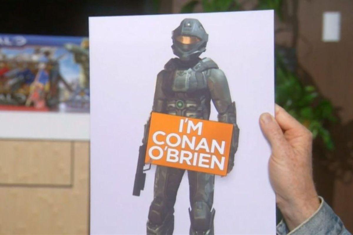 Conan O'Brien Halo 4