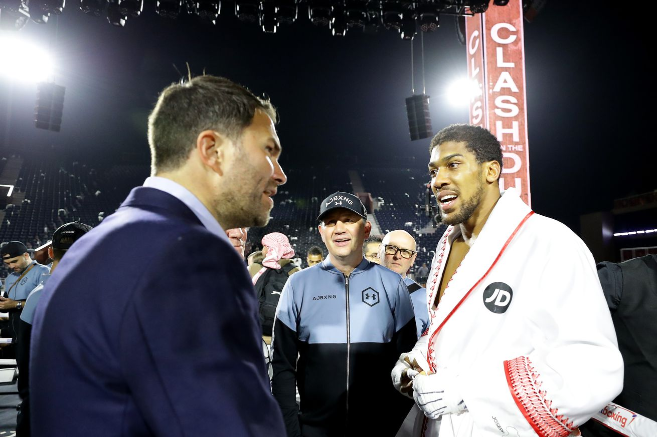 Hearn hopes December date for Joshua-Pulev will allow for fans