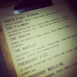 """Naturally, """"The Harlyn"""" was everyone's favorite drink of the night"""