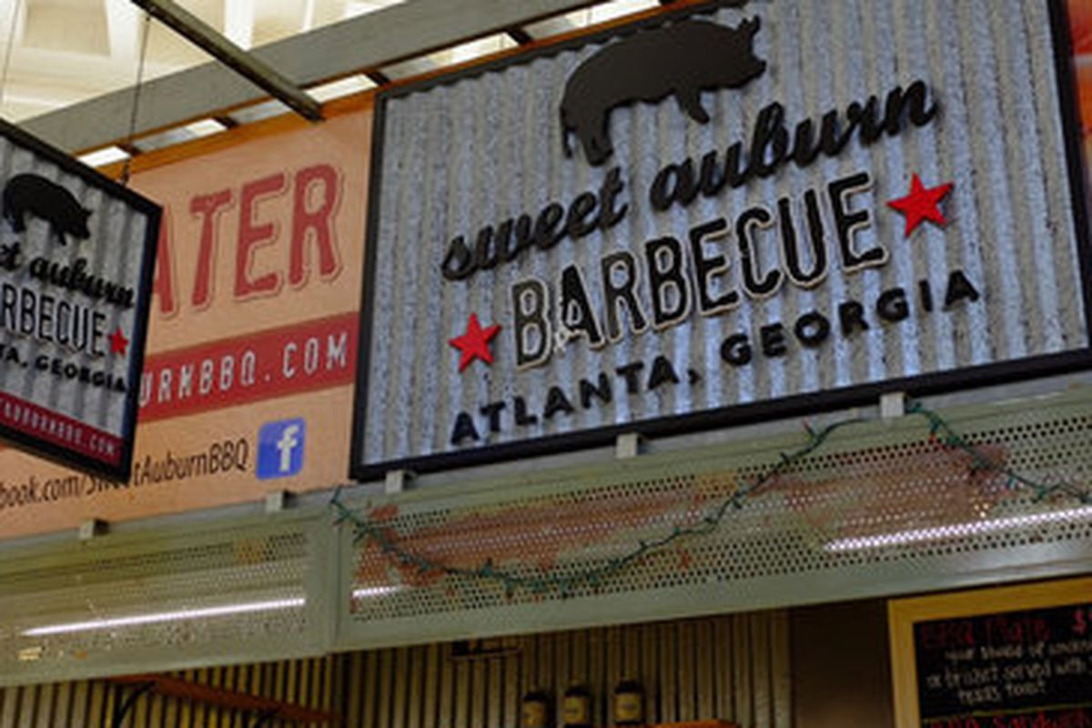 Sweet Auburn Barbecue at the Curb Market.