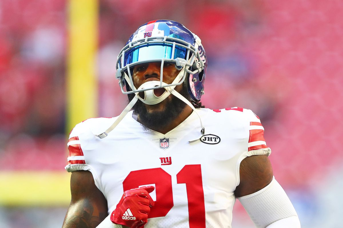 low priced 28ade 7d64d Landon Collins will not be franchise tagged by Giants - Big ...