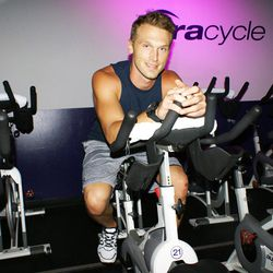 """<a href=""""http://la.racked.com/archives/2014/08/20/hottest_trainer_contestant_15_tolland_weems.php""""><b>Tolland Weems</b></a> of AuraCycle"""