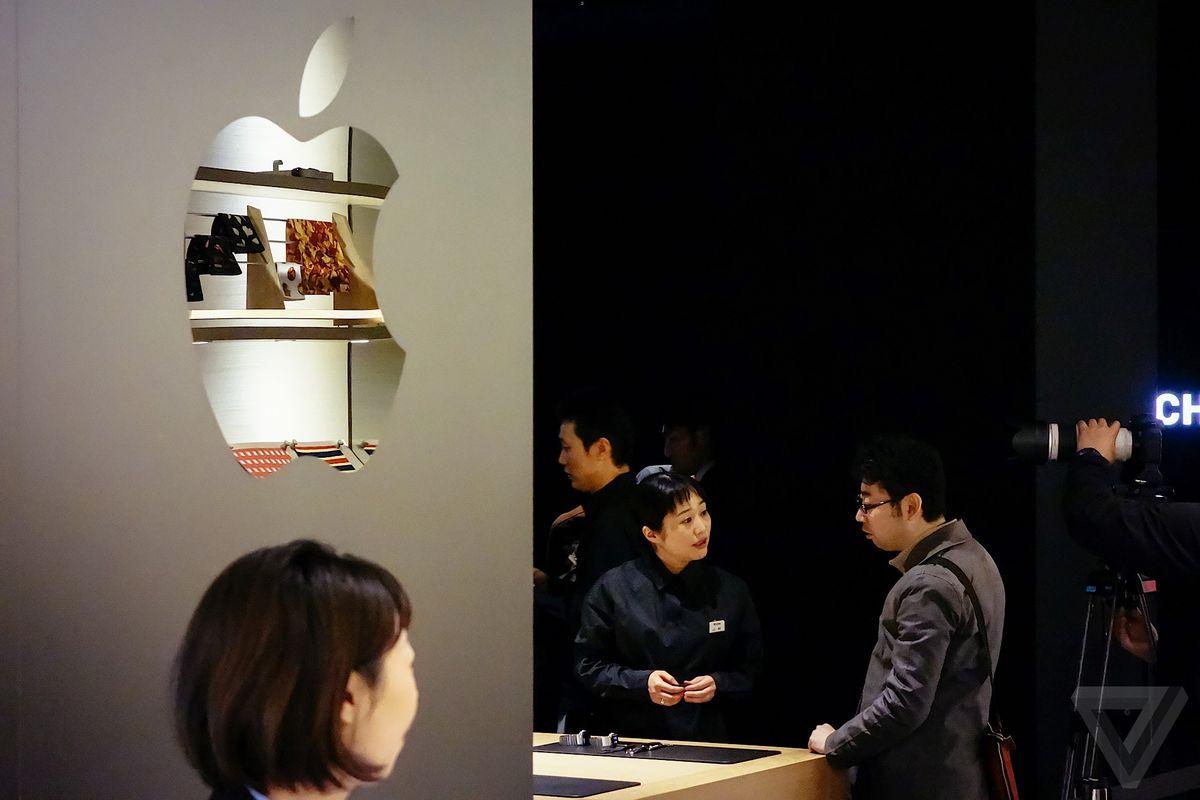 apple watch tokyo isetan