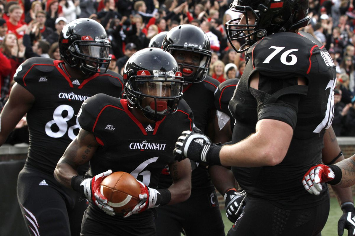 Anthony McClung is the only Bearcat on offense to make Phil Steele's All Big East first team(Photo by Tyler Barrick/Getty Images)