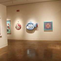 Here, we enter the art gallery, which is filled with Hello Kitty-inspired masterpieces from a diverse roster of artists.