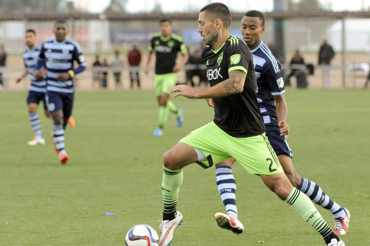 sounders end preseason with draw against sporting kc