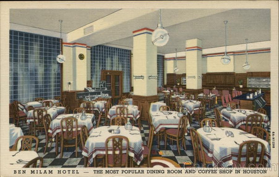 Postcards From The Past Long Gone Houston Restaurants In