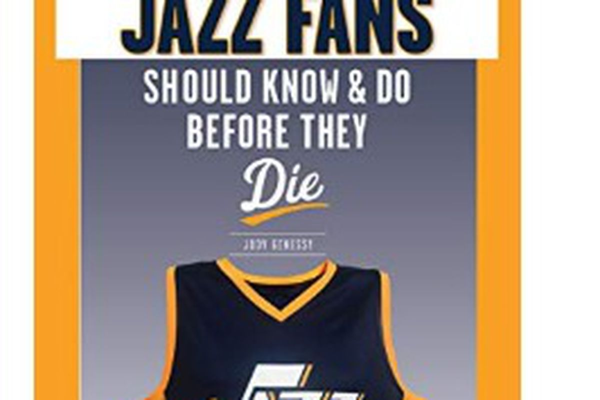 """Deseret News sports writer Jody Genessy's book about the Utah Jazz, """"100 Things Jazz Fans Should Know & Do Before They Die,"""" is now available."""