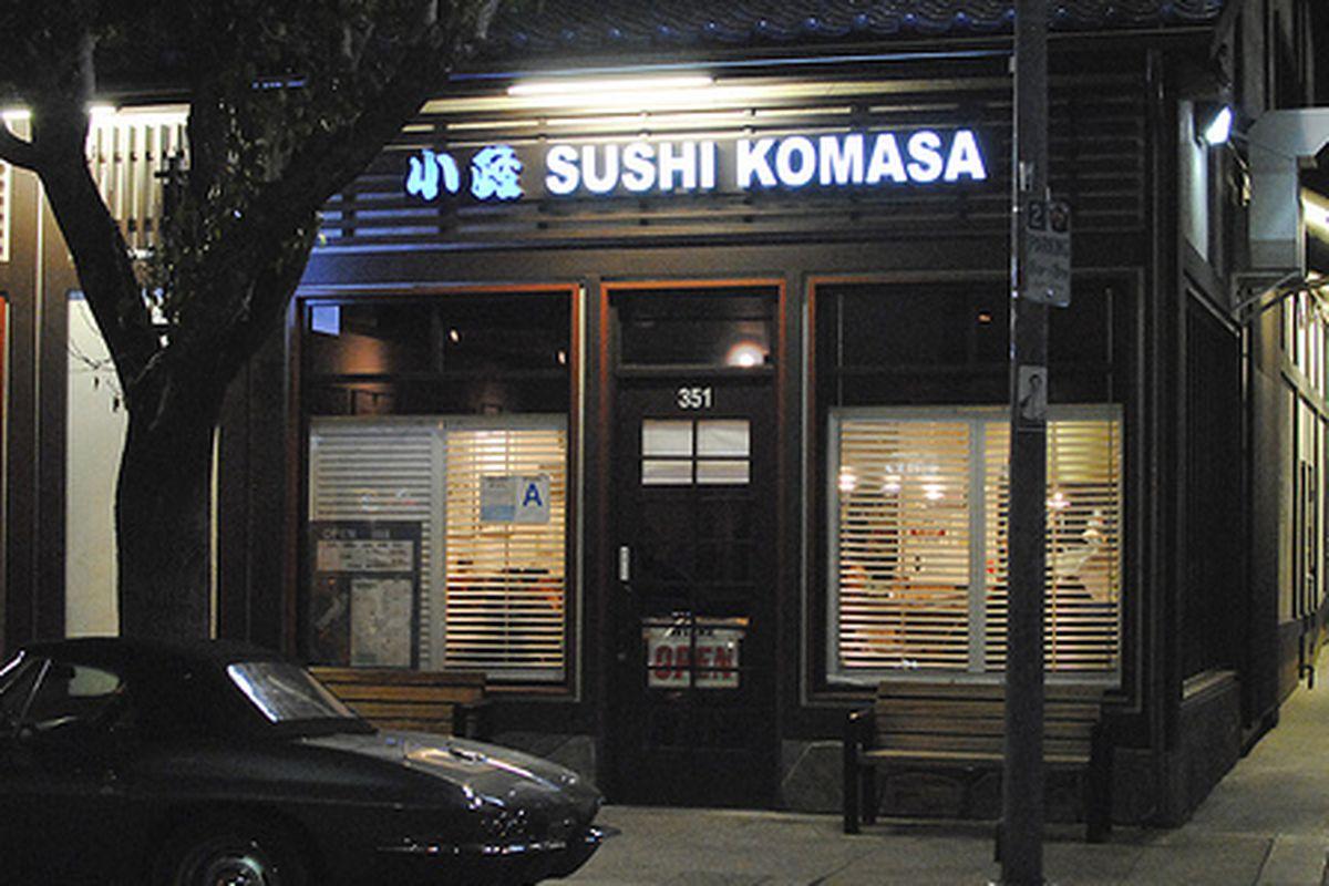 Sushi Komasa, Little Tokyo.