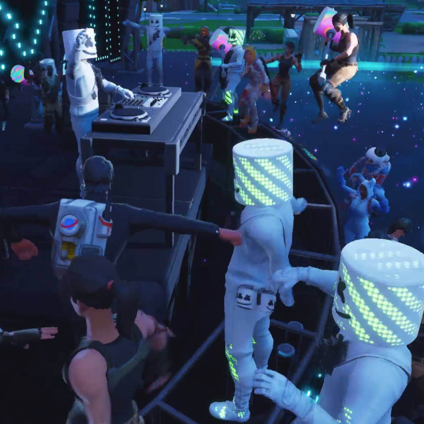 - marshmello fortnite song alone