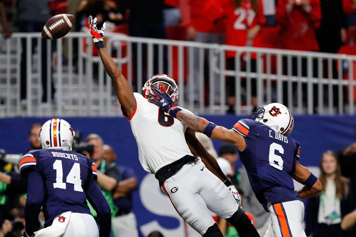 SEC Championship - Auburn v Georgia