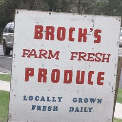 Fred and Glen Brock are calling it quits after more than 44 years of farming and selling their produce at the side of the road.