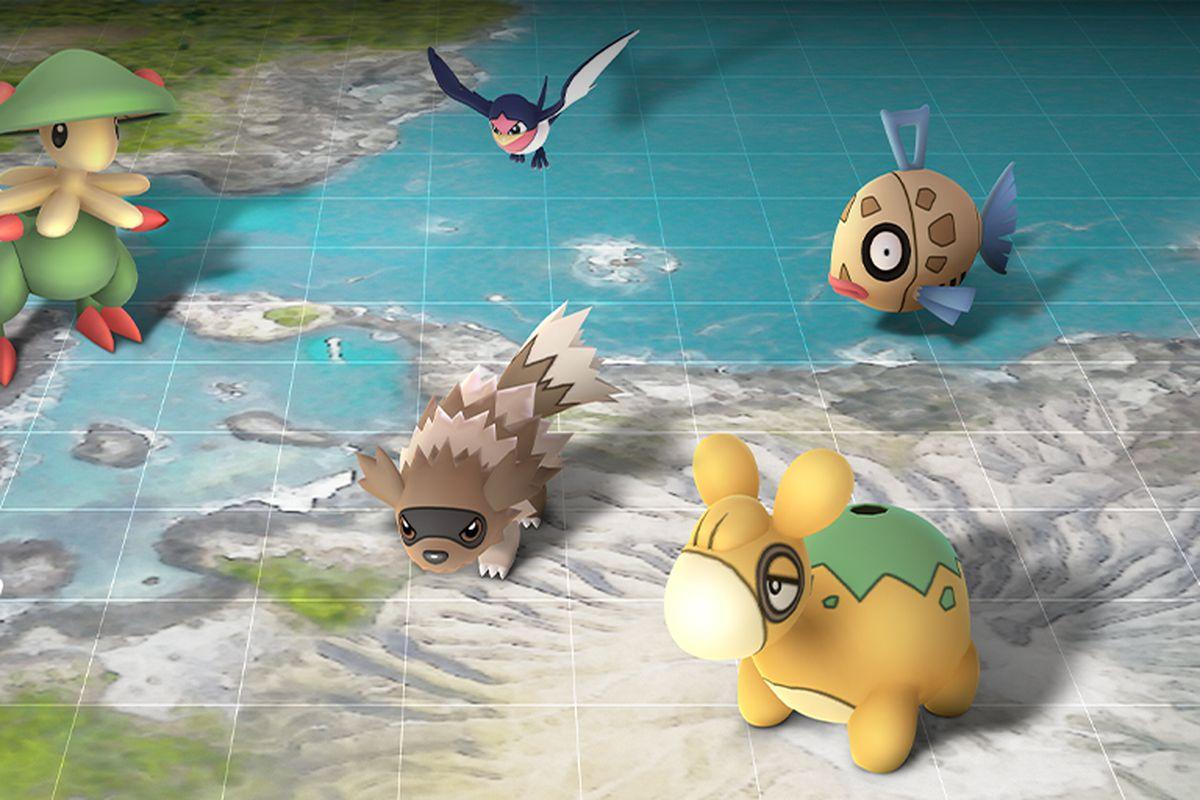 Pokémon Go Hoenn event brings back Kyogre and Groudon, new shinies
