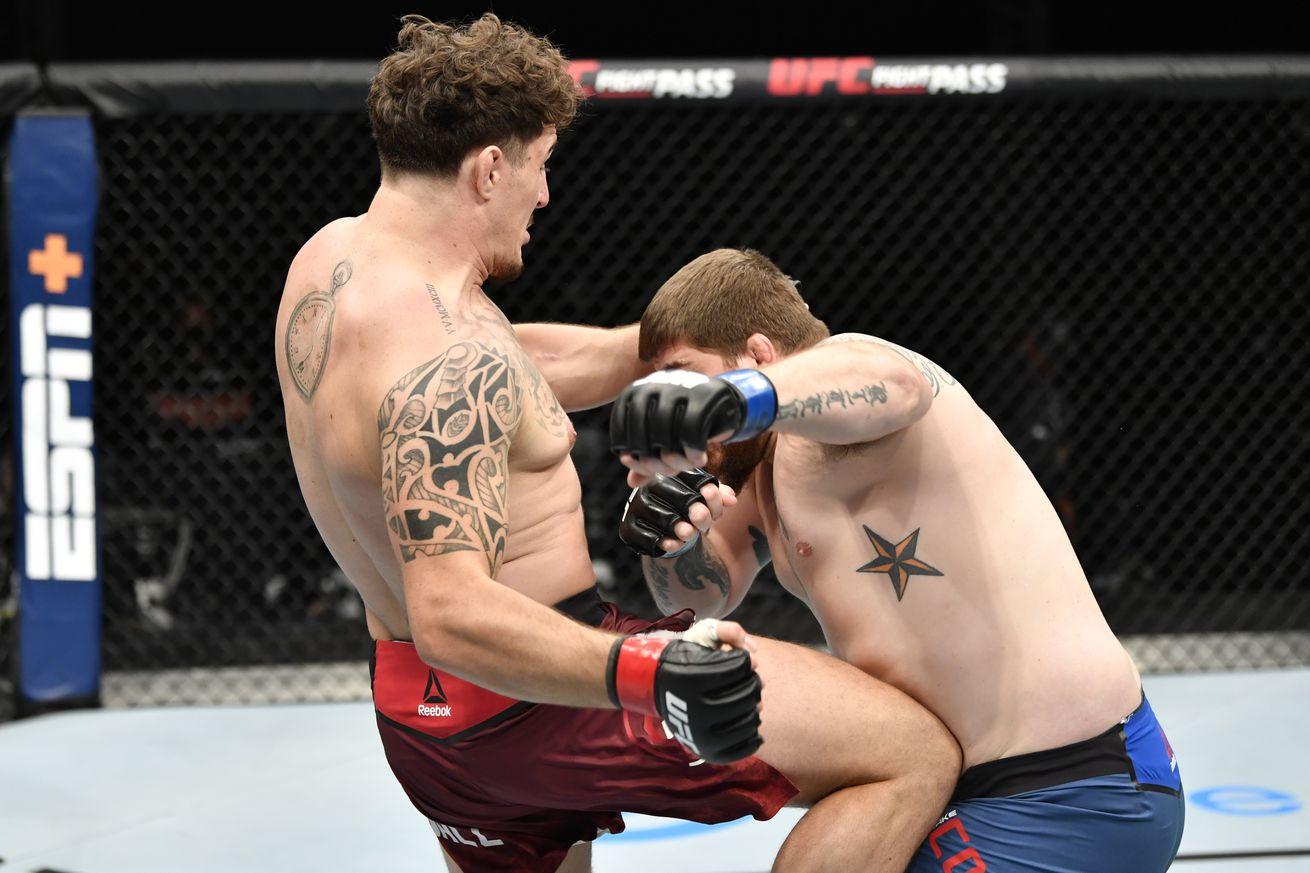 UFC Fight Night: Aspinall v Collier