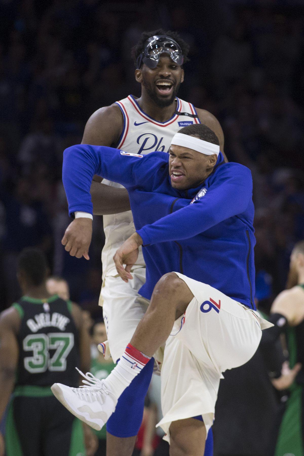 Boston Celtics v Philadelphia 76ers - Game Three