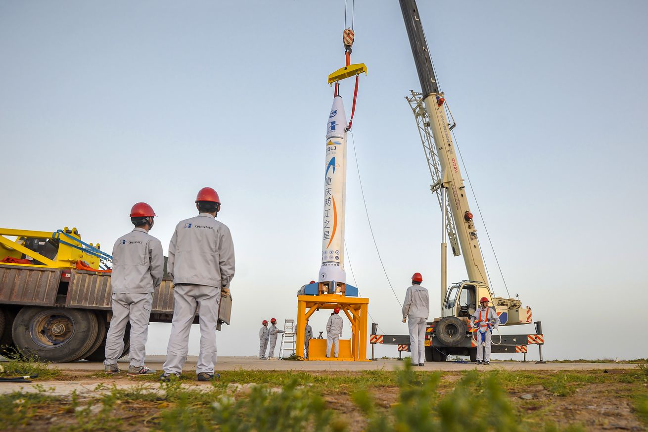 China's first private rocket launch kicks off the country's commercial space race