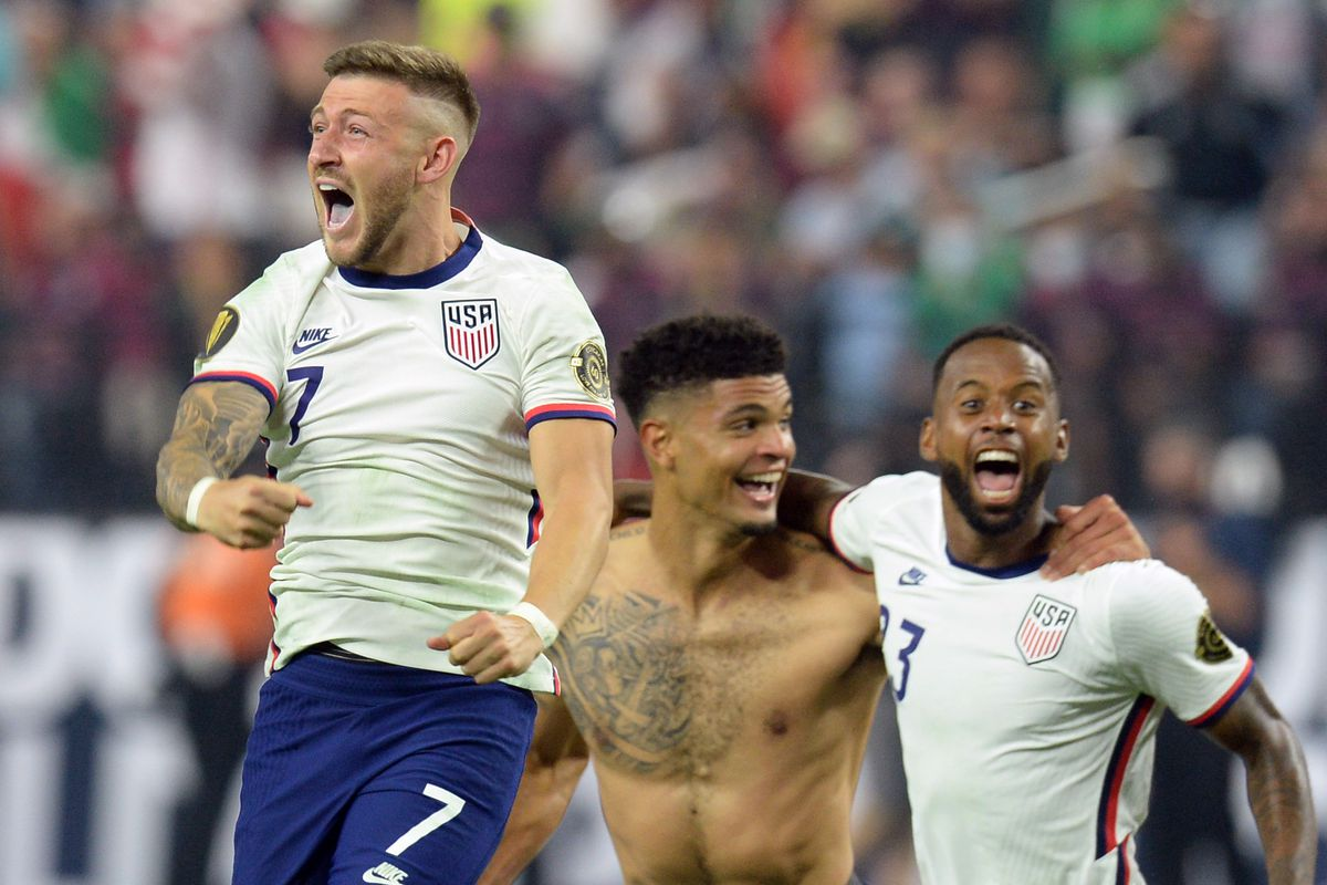 Soccer: CONCACAF Gold Cup Socce-USA at Mexico