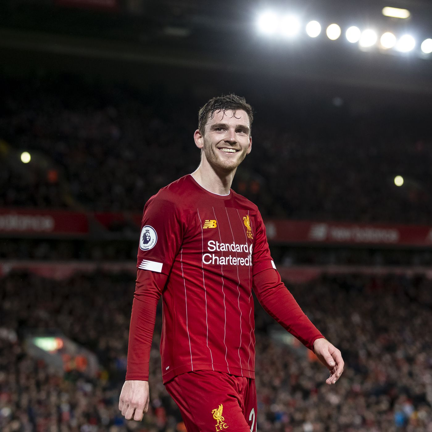 Andy Robertson Hails Liverpool's Run of Premier League Clean ...