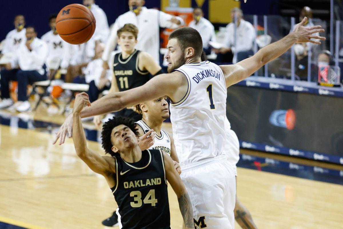 NCAA Basketball: Oakland at Michigan