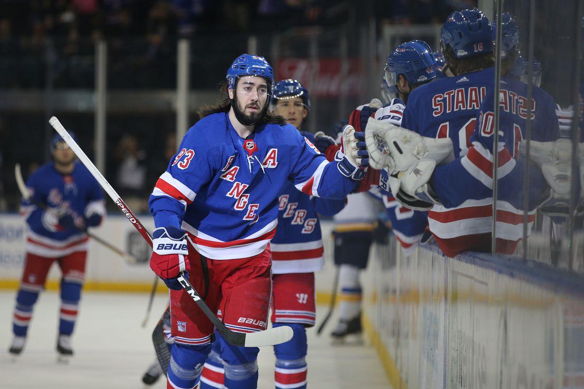 NHL: St. Louis Blues at New York Rangers