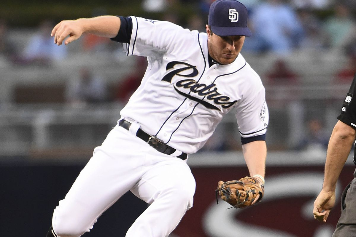 The way Gyorko's season is going, he's probably about to land on his face.