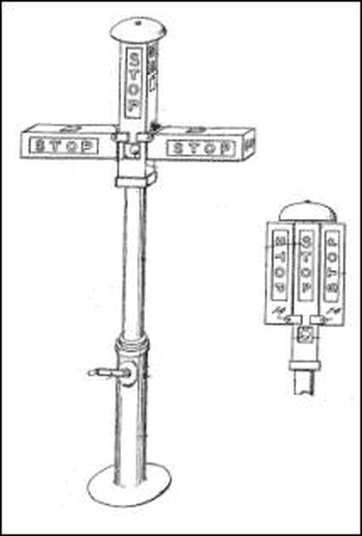 when was the first traffic light installed  today in 1914