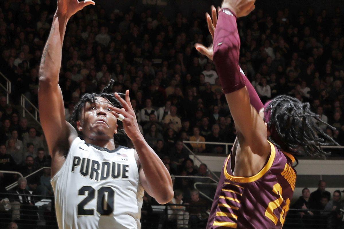 NCAA Basketball: Central Michigan at Purdue