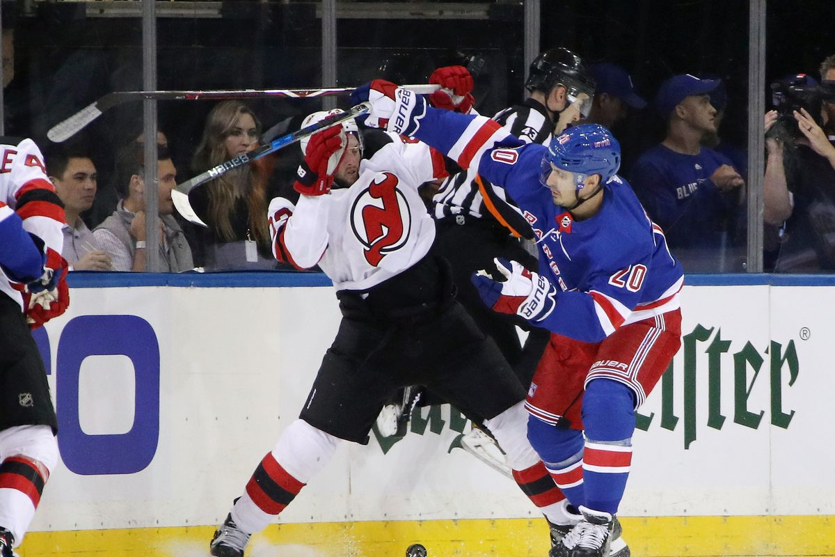 bb3e1ba1e Game Thread  Rangers at Devils - Blueshirt Banter