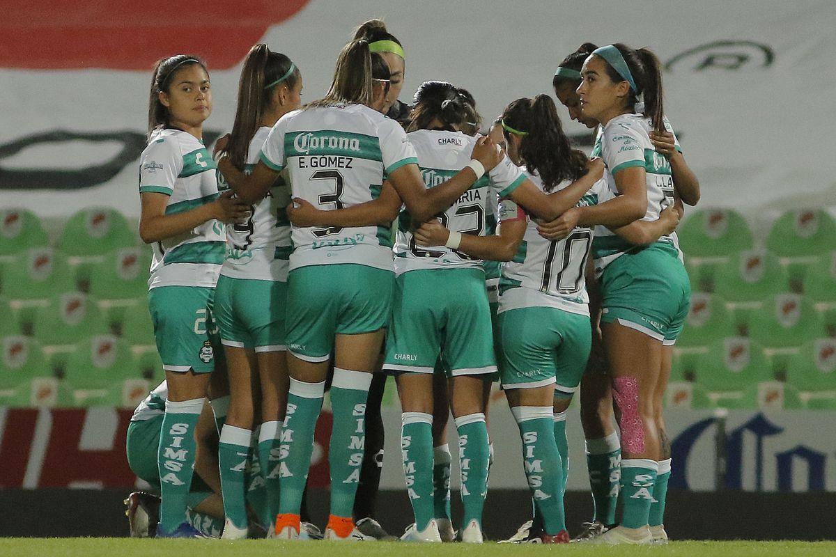 Santos Laguna v Toluca - Torneo Guard1anes 2020 Liga MX Femenil